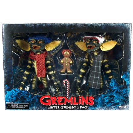 "NECA Gremlins Christmas Carol 2 Pack 7"" Scale Action Figures - Set 1"